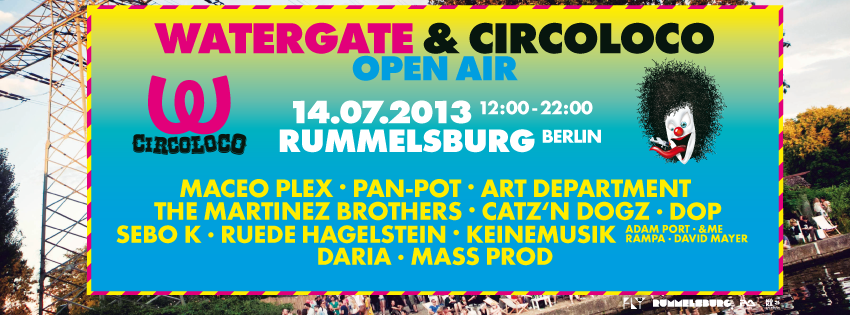watergate open air