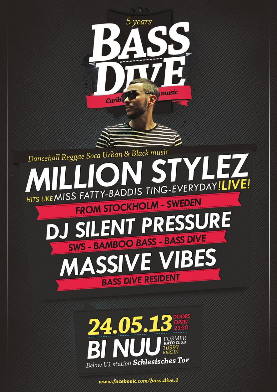 Bass Dive Flyer