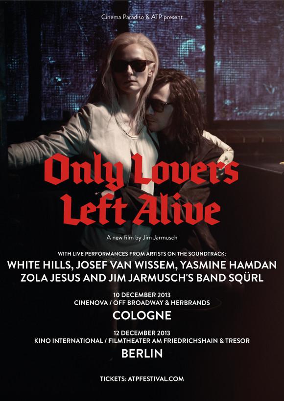 Only lovers left alive  live performances