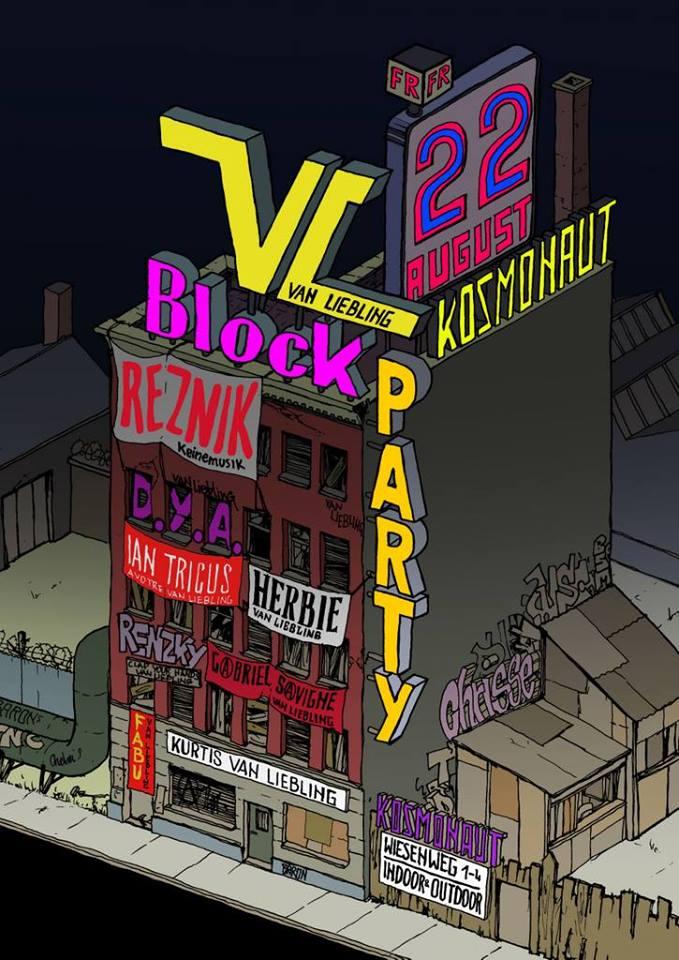 van liebling blockparty