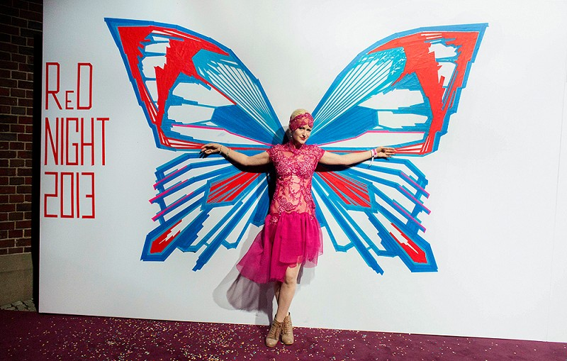 TAPE-ART-by-TAPE-OVER_reminders-night_butterfly-photo-booth