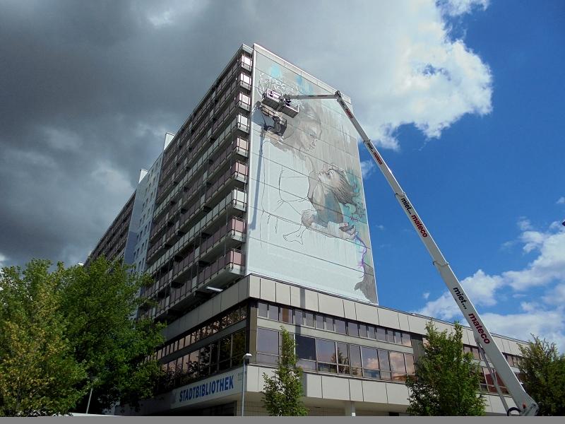herakut berlin mural