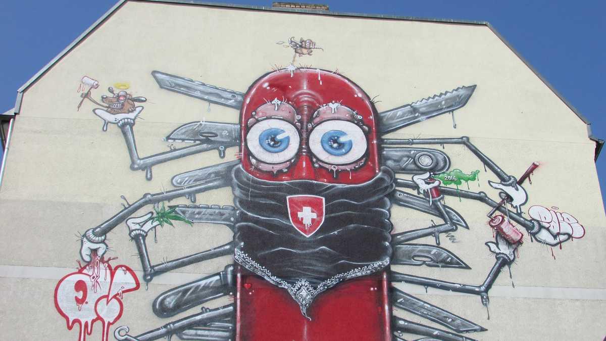 Mural Warschauer Straße