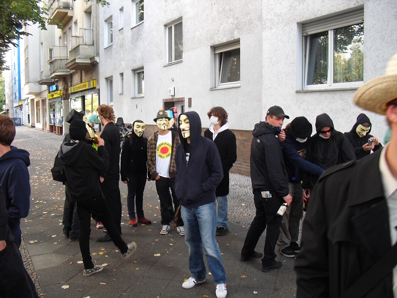 Anonymous Rave against Scientology, Berlin