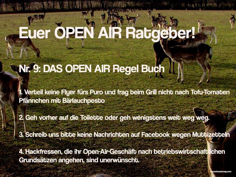 open-air-ratgeber-regeln