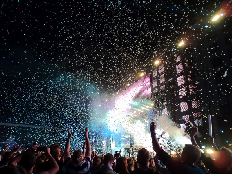 Festival of electronic music