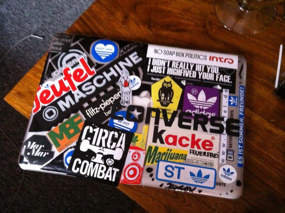 Notebook Stickers Und Laptop Aufkleber Für Alle Die